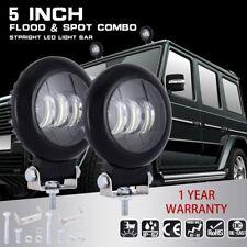 5'' 72W 5D Cree LED Auto Work Light Bar Flood Driving Lampen Arbeitsscheinwerfer