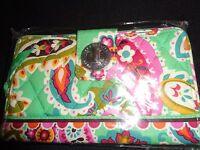 NWT Vera Bradley TURN LOCK WALLET ~ your pattern choice ~ some recent, many HTF
