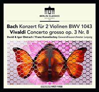 David and Igor Oistrach - Bach Double Concerto for Violins Vivaldi Franck [CD]