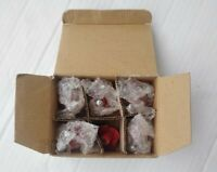 Red Apple Country Kitchen Chic Drawer Cabinet Knobs Pulls Lot Of 6