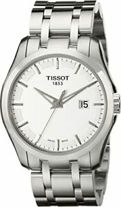 Tissot Swiss Made T-Trend Couturier Men's Stainless Steel Watch T0354101103100