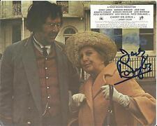 Hand Signed 8x10 original CARRY ON GIRLS Lobby Card photo JACK DOUGLAS + my COA