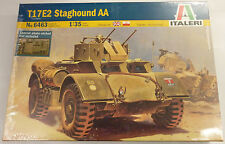 Italeri 1/35 T17E2 Staghound AA Armored Vehicle Model Kit 6463