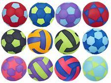 GONFIABILE Saltare in aria Football Calcio Palla Da Spiaggia Nuoto Borsa Festa Estiva giocattolo 40cm