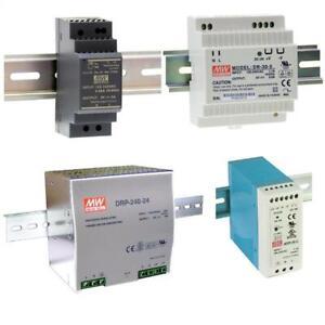 MeanWell Hutschienen Netzteile HDR- DR- DRP- MDR- Serie DIN-Rail Treiber Trafo S