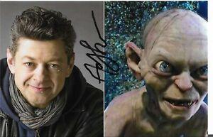 Autogramm von Herr der Ringe Andy Serkes,Gollum