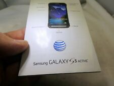 Samsung  Galaxy S5 Active cell phone Quick Start  Guide