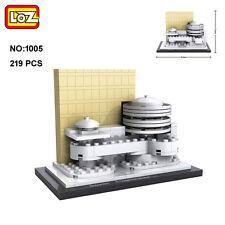 LOZ Architecture 1005 R.Guggenheim Museum DIY Nano Blocks Diamond Building Toy