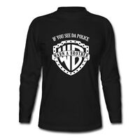 Warn A Brother T-Shirt If You See Da Police Shirt Long Sleeve T-Shirt Size S-2XL