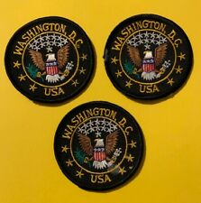 3 lot of Washington DC USA Patches Patch  567S
