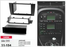 45111 2/1-DIN Radioblende für JAGUAR X-type 2002-2008, S-type 2003-2008 (schwarz