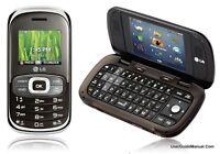 LG Octane VN530 - Silver Brown (Verizon) Cellular Phone