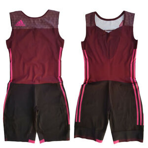 Adidas Performance 16 S W Suit Athletics Weightlifting One Piece Suit Overalls