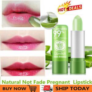 Magic Aloe Vera Lipstick Lip Balm Color Mood Changing Long Lasting Moisturizing!