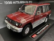 1998 Mitsubishi Pajero / Montero 3.5 V6 Cambridge Red Sunstar 1/18 ASIAN EDITION