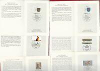 BRD BUND   (1227 04) AUSWAHL Lot  Faltkarten von Klaus Zumwinkel unterschrieben