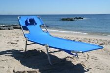 Beach Lounge Chair Lounger Pool Patio Yard Garden Sun Furniture Portable Fold