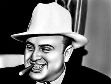 Al Capone Cigar Chicago Gangster Mobster Art Outlaw Print POSTER FR