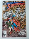 SUPERMAN #5 (1987) DC COMICS WONDER WOMAN! JOHN BYRNE! KARL KESEL! 1ST PRINT!