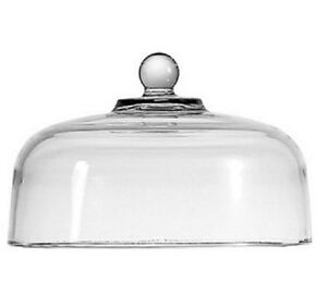 """New Anchor Hocking Glass Cake Dome Cheese Dome for Stand 11.25"""" Cake Cover"""
