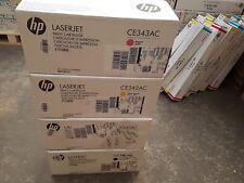 4 Toner HP CE340AC CE341AC CE342AC CE343AC CMYK NEU OVP B-Ware MFP M775 Rg MwSt