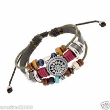 PIRATI DEI CARAIBI BRACCIALE PIRATES OF THE CARIBBIAN JOHNNY DEPP SPARROW CASS:B