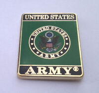 """UNITED STATES ARMY ( 1-1/8"""" ) Military Veteran US ARMY Hat Pin P64017 EE"""