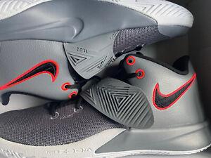 Nike Kyrie Flytrap 3 Cool Grey/ Bright Crimson/White/Black BQ3060010 Men Sz 10