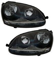 Scheinwerfer für VW GOLF 5 03-09 Satz GTI-Look XENON-OPTIK H7 Halogen Jetta Set