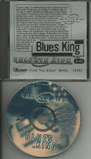 DEADEYE DICK Blues King PROMO DJ CD single 1995 w/ LYRICS