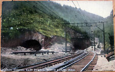 1910 Postcard: 'Hoosac Railroad Tunnel - North Adams, Massachusetts MA Mass'