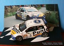 FIAT PUNTO S1600 #3 VALLEJO RALLYE VILLA DE LLANES 2002