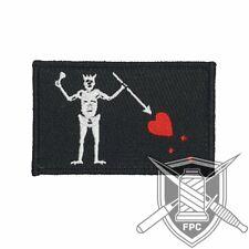 Blackbeard Flagge - Patch - schwarz