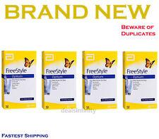 Abbott FreeStyle Optium 200 (4X50) Blood Glucose Test Strips 4 Packs Exp 01/2020
