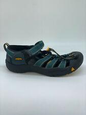 Keen Hiking Sandals Womens Size 6 Blue Black Shoes Outdoor Waterproof