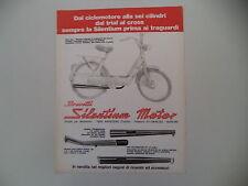 advertising Pubblicità 1977 MARMITTE SILENTIUM e PIAGGIO CIAO 50