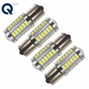 White 1156 5630 33SMD 6000K High Power Interior LED Light Bulbs 1073 1141 4pcs