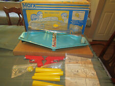 RARE Vintage 1970's Marx PISTOL POLO Shooting Gallery Game with box