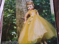 7pg Madame Alexander Cissy & DIOR Fashions Doll History Article / Maxwell