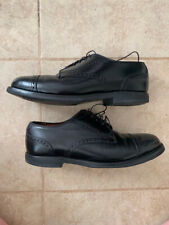 Allen Edmonds Black Leather Oxfords - Men's size 8
