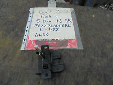 VOLKSWAGEN GOLF 1.6 SR 5 PORTA PORTELLONE Blocco Latch MARK 4 2000
