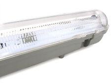 A2ZWORLD PLAFONIERA STAGNA SINGOLO TUBO LED T8 150CM IMPERMEABILE IP65 ESTERNO I