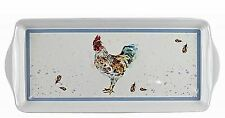 The Leonardo Collection Jennifer Rose Country Cockerel Serving Tray JD LP91967