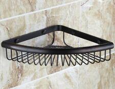 Oil Rubbed Bronze Bathroom Corner Shelf Soap Shower Caddy Shelves eba511