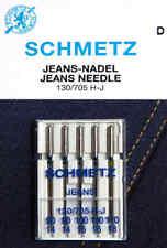 5 Jeans Nadeln 130/705 SCHMETZ Nähmaschine Flachkolben 90 -110