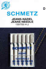 5 SCHMETZ Jeans Nadeln 130/705 H-J Stärke 90-110/14-18 Nähnadeln Nähmaschine