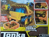 TONKA - METAL MOVERS PACK PLAYSET- MIGHTY DUMP TRUCK FRONT LOADER JOBSITE