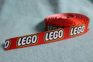 """Lego Ribbon 7/8"""" (22mm) Wide NEW UK SELLER FREE P&P"""