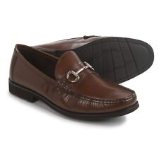Florsheim Men's Tuscany Bit Cognac Brown Leather Loafers Slip On  11D #13212-221
