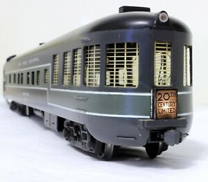 "Kasiner ""Twentieth Century"" Observation Car - New York Central - O Scale, 2-rail"